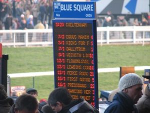 On Course Bookie Display Board