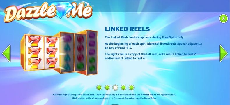 Dazzle Me Linked Reels