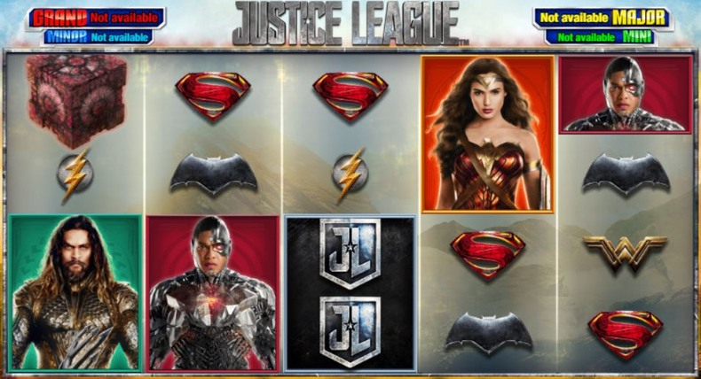 Playtech Justice League