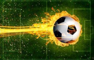 Ball on Fire