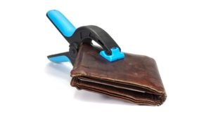 Wallet clamp