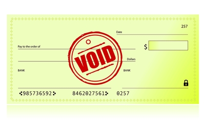 Void Cheque