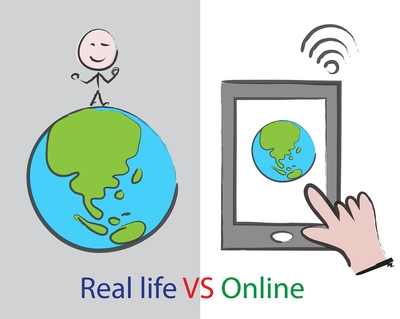 Real Life vs Online
