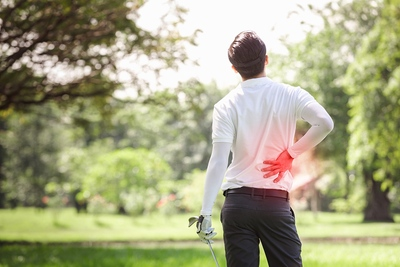 Golf Back Injury