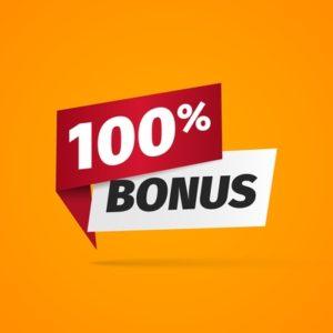 100 Percent Bonus