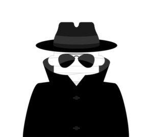 Cloaked Spy Wild Symbol