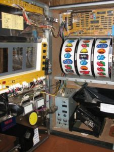 Fruit Machine Insides