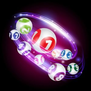 Bingo Balls Moving