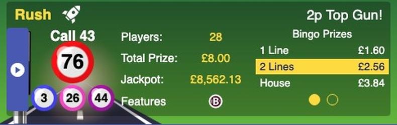 Bingo Game Example