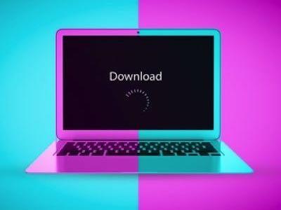 Computer download