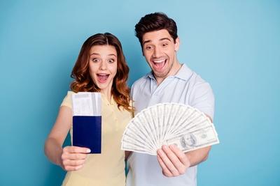Happy Couple Win Lottery