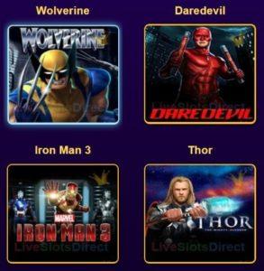 Marvel Slots 2
