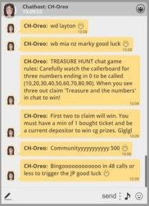 Microgaming Bingo Chat Room