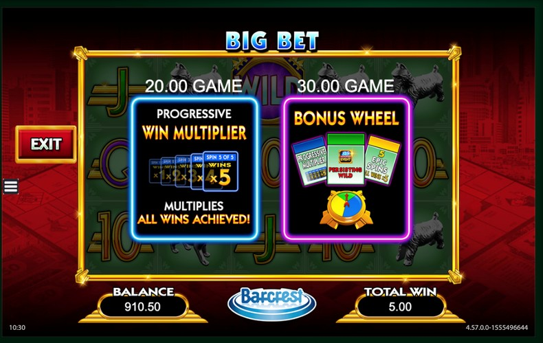 Monopoly Big Bet