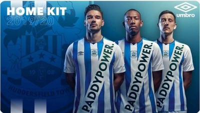 Paddy Power Huddersfielf Kit