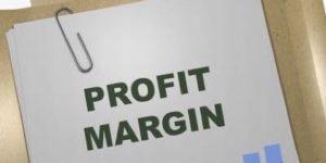Profit margin feature