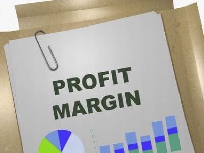 Profit margin feature