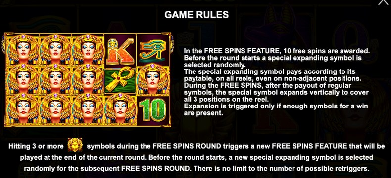 Slot Rules Example