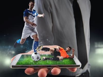 Football match - mobile betting