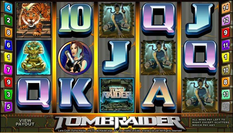 Tomb Raider Microgaming