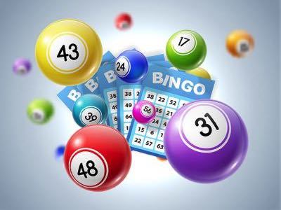 Virtual bingo balls and cards