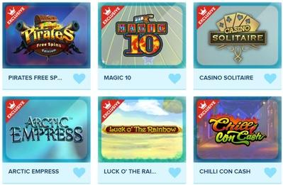 Exclusive Slots