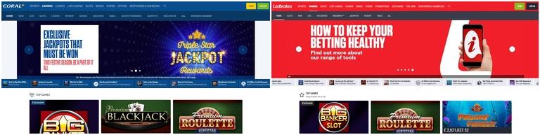 Slots Sites Comparison