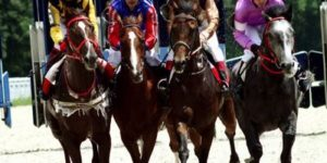 Horse race featured