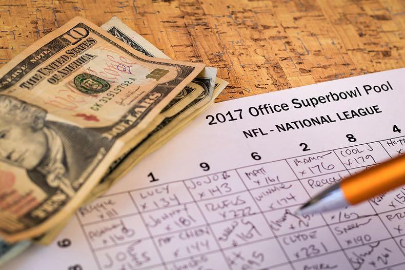 Office NFL Superbowl bets