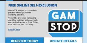 Gamstop screenshot
