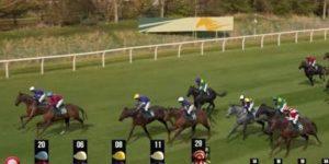 Virtual horse racing intro